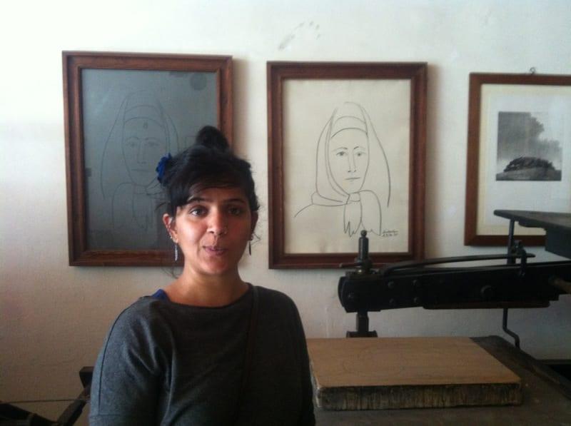 Picasso's prints at Il Bisonte