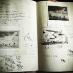 Sketching and planning  a set of etchings at the esteemed Il Bisonte Instituto del Arte Grafica, Firenze, Italy 2013
