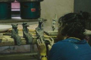 The first few made at Uttarayan
