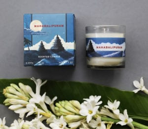 Mahabalipuram candle for No. 3 Clive Road