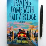 Book cover design, Leaving Home with Half a Fridge