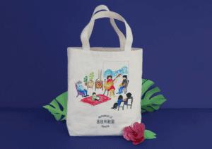 Tote bag for Takata Republic, Japan