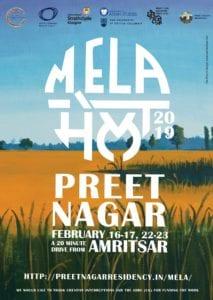 Poster for Mela, Preet Nagar Residency 2019