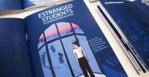 Illustrated report on research about Estranged Students by Prof. Yvette Taylor and Dr. Cristina Costa