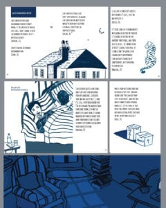 Layout design and illustration for Illustrated report on research about Estranged Students by Prof. Yvette Taylor and Dr. Cristina Costa