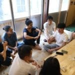 Sharing session after the Door to Asia designer in residence program, Tokyo 2018