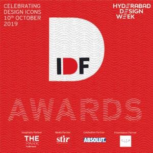 Logotype for India Design Forum Awards, 2019